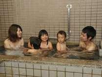 【家族風呂】お子様連れにうれしい家族風呂。もちろんお湯は温泉です。