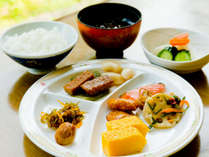 【朝食バイキング】和食派にうれしい、胃にやさしいメニュー