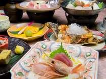 【竹膳】地元産の食材にこだわった和食膳をたっぷりお召し上がりください