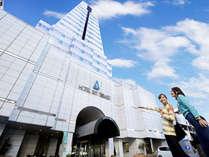 【外観】宮崎駅より徒歩3分!タワー型のホテルです。