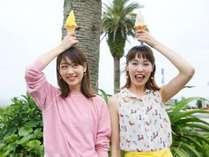 【道の駅フェニックス】人気のソフトクリームや宮崎のお土産がいっぱい♪車で約30分。