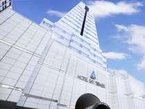 宮崎駅より徒歩5分の好立地!タワー型の建物が目印