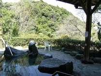 【露天風呂】季節折々の景色を堪能ください。