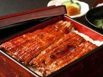 名物「極上うなぎ」厳選された良質の鰻を秘伝のタレで丁寧に焼き上げました。