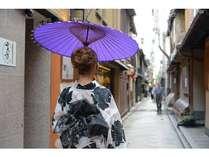 京都随一の風情溢れる夕食繁華街「先斗町(ぽんとちょう」は、当ホテルより徒歩7分!
