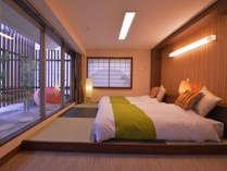 和洋室「風」竹をモチーフにした大人な空間。