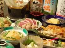 夕食提携店・木屋町「町衆料理 京もん」だしが自慢の町衆京料理。