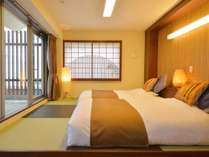 特別室「風」竹林を吹き抜ける風をイメージしたお部屋