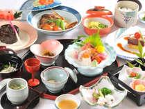 <夕食一例>季節毎の旬の食材でおもてなし。