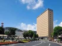 ホテルと鹿児島中央駅