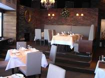 今までのスキー場には無かった大人の雰囲気のレストラン