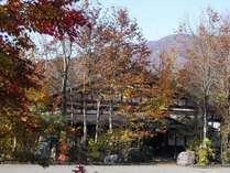秋に囲まれた小会瀬へどうぞ。