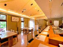 すし屋のかつ勘(リゾート内レストラン)/確かな腕の寿司職人による本格的な握り寿司を。