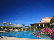 プール/本館にある宿泊者専用プール。日の出から日没までご利用可能。お子様用プールもございます。