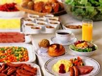 和洋 朝食バイキング(洋食メニュー一例) 2F レストラン・フィガロ