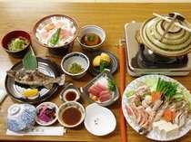 和食膳プラン(夕食一例)
