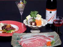 【50組限定】 酒泉の杜限定ワイン&宮崎牛会席を愉しむ <グレードアッププラン>