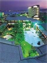 指宿温泉 指宿白水館 (鹿児島県)