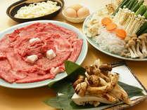 近江牛と松茸のすき焼き