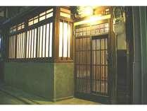 京町家の格子
