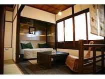 まるで「京都の自宅」のような落ち着きのあるお部屋です
