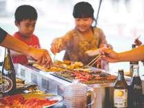 サマープラン<発散プラン>夏と言えば!肉肉ジューシー野外BBQ「飲み放題&食べ放題」(特典付)