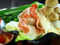 【夕食】味付けは日替わり★国産豚肉のミニ鍋