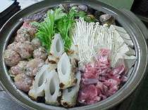 信州味噌を使ったピリ辛鍋