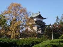初秋の高島城