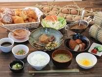 自社農場直送の素材をはじめ、九州産の醤油や味噌を使用しています。