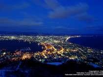 100万ドルとも言われる函館山からの夜景は最高です!