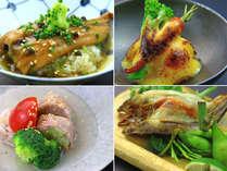季節ごとに希少な最高の食材を仕入れ、食材を生かした調理法でご提供しております。