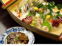 【ご当地の美味しさ】きっときと地魚 天然の生け簀「富山湾直送」鮮魚姿盛プラン&特選ステーキも