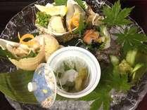【夏の味】富山湾の夏!貝3種盛り&白海老セットプラン