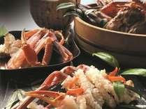 【冬季限定・冬の贅沢】富山湾の王様『本ずわい蟹』を堪能~冬の美味・最高級活本ズワイ蟹プラン