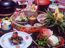 「味の宿 梅乃屋」ならではの質を重視したお料理※一例