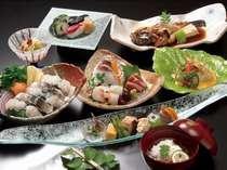 ★料理宿の旬食材でおもてなし★月替り会席スタンダードプラン♪口コミでも評判のお料理をご堪能下さい