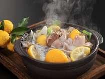 冬野菜と寒魚☆料理宿の味わいコース~山口海の幸、山の幸を堪能~