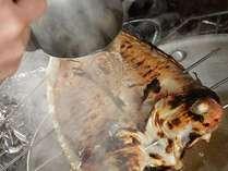 炭火で何ども焼き上げた天然の高級魚甘鯛は絶品です♪