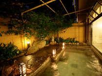 ◆自家源泉の露天風呂は【炭酸水素イオンが豊富】で美肌効果抜群!