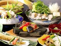 ◆素材を生かした手作りのお料理をお楽しみくださいませ(季節一例)