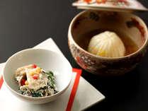 ◆一品一品の食材の新鮮さが際立つお料理。どの品も全てが手作りでご用意