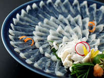 ◆地域NO1の人気を誇る梅乃屋の「活き〆とらふぐ」料理!!今年も美味しいふぐをご用意
