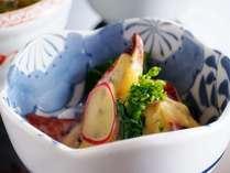 料理評価4・5点。前菜からすべてを手作りでご用意しております。(一例)