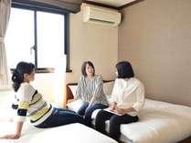 ◆ミニツインルーム◆仲良し3人組に最適☆高松駅からもっとも近く便利な立地◎
