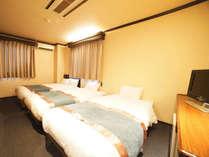 ◆トリプルルーム◆ベッド3台で最大4名様まで利用可能☆
