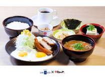スペシャル和朝食B(ソーセージエッグ)