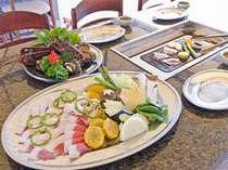 ★5月~9月末メインのバーベキューでも絶品のイノブタが食べられます