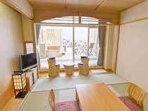 露天風呂付客室(1)