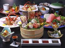 お料理の一例。本当に少量ですが、食材を吟味し充実させた新会席です。